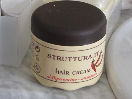 Маска для волос с перцем чили от STRUTTURA