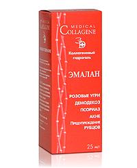 Коллагеновый гидрогель для проблемной кожи и ран Эмалан от Medical Collagene 3D