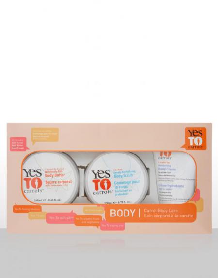 Набор для ухода за телом (Limited Edition Bodycare Kit) от Yes To Carrots