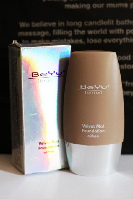 Матовый тональный крем Velvet mat от BeYu