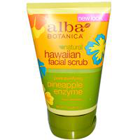 "Энзимный скраб для лица Natural Hawaiian Facial Scrub ""Pineapple Enzyme"" от Alba Botanica"