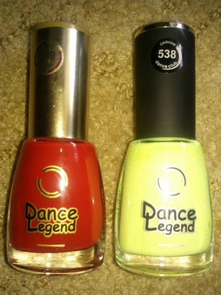 Лак для ногтей № 538 от Dance Legend