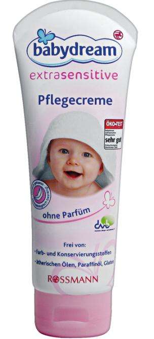 Детский крем для очень чувствительной кожи Babydream от Rossmann