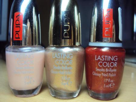 Лак для ногтей LASTING COLOR (оттенки №  808, № 603, № 201) от Pupa