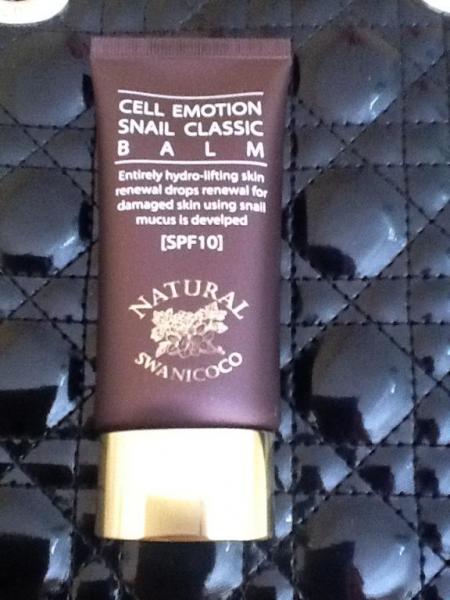 BB-крем CELL EMOTION SNAIL CLASSIC BALM SPF10 от Swanicoco