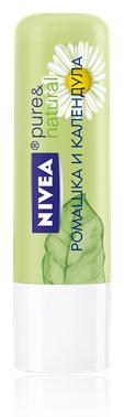 """Бальзам для губ """"Ромашка и календула"""" от Nivea"""