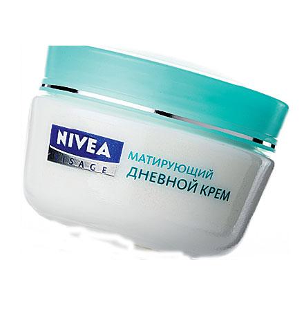 Увлажняющий дневной крем матовое совершенство от Nivea