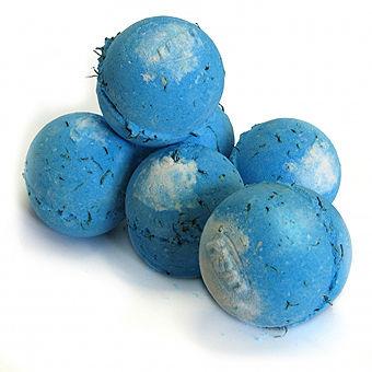 Бомба для ванны «Большая синяя» от Lush