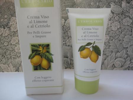 Крем для жирной и загрязненной кожи с легким эффектом крем-пудры от L'erbolario