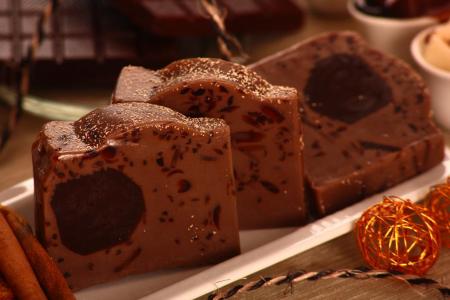 """Мыло ручной работы """"Молочный шоколад"""" от QUIZAS"""