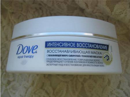 Маска для волос интенсивное восстановление Repair Therapy от Dove