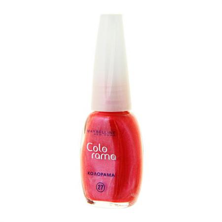 Лак для ногтей Colorama (оттенок № 27 Фруктовая карамель) от Maybelline