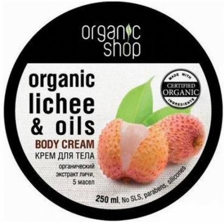 Крем для тела «Розовый личи» от Organic Shop