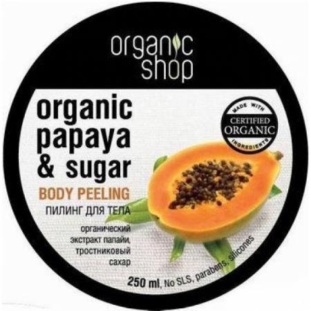 Пилинг для тела «Сочная папайя» от Organic Shop