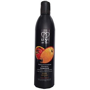 """Интенсивный шампунь стимулирующий рост волос """"Апельсин+Перец Чили"""" от Love 2 mix Organic"""