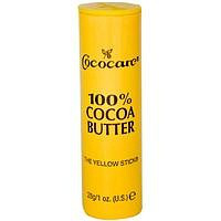 100% масло какао в стике: 100% Cacao Butter the yellow stick от Cococare