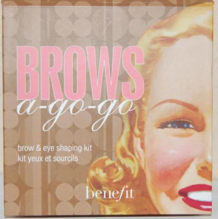 Набор для бровей Brows A-Go-Go (Brow and Eye Shaping Kit) от Benefit