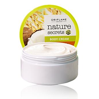 Питательный крем для тела «Пшеница и кокос» от Oriflame