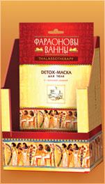 """Detox-маска для тела с голубой глиной """"Чайное дерево"""" от Фараоновы ванны"""