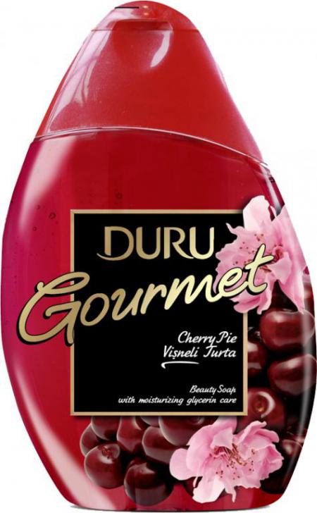"""Гель для душа Gourmet """"Вишневый пирог"""" от Duru"""