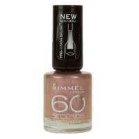 Лак для ногтей 60 seconds (оттенок № 500 Caramel cupcake) от Rimmel