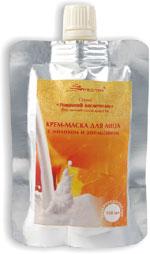 Крем-маска для лица с молоком и апельсином от MeiTan