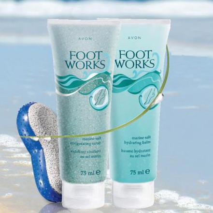Увлажняющий бальзам для ног с морской солью от Avon