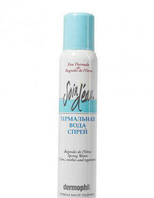Термальная вода-спрей для лица Soin D`Eau от Dermophil