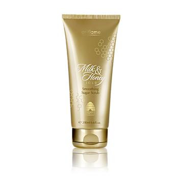 Сахарный скраб для тела «Молоко и мед - Золотая серия» Milk & Honey Gold от Oriflame