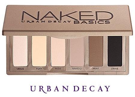Палетка теней для век Naked Basics Palette от Urban Decay