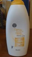 """Гель для душа + пена для ванн """"Овсяное молочко""""от Auchan"""