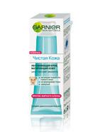 Крем увлажняющий против жирного блеска Чистая Кожа от Garnier