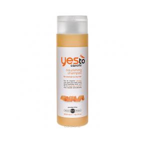 Питательный шампунь для нормальных и сухих волос с экстрактом моркови от Yes To Carrots