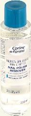 Жидкость для снятия лака Corine de farme