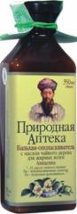 """Бальзам для волос с маслом чайного дерева для жирных волос от """"Природная Аптека"""""""