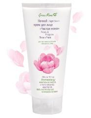 Ночной крем для лица «Чистая кожа» Пион и Чага от Green mama