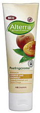 Крем-скраб для лица Peelingcreme Pfirsich от Alterra