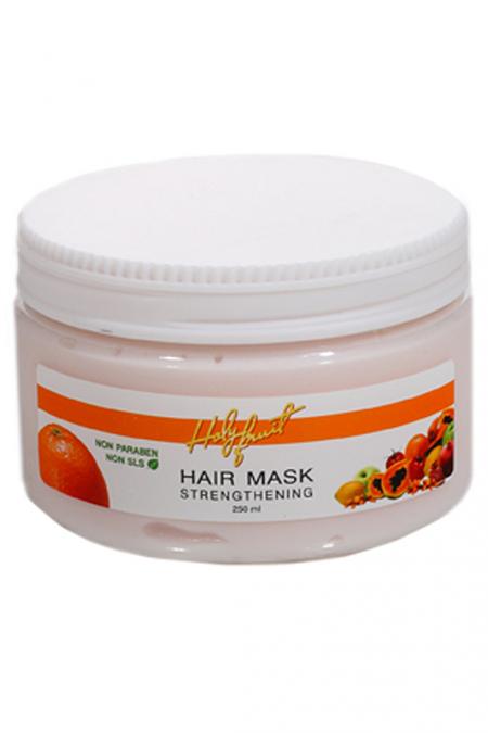 Маска укрепляющая для нормальных волос на основе подсолнуха от Holy Fruit