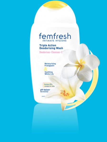Дезодорирующее средство для интимной гигиены от Femfresh