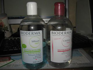 Мицеллярная вода  H2O Sensibio от Bioderma