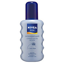 Охлаждающий спрей после загара от Nivea