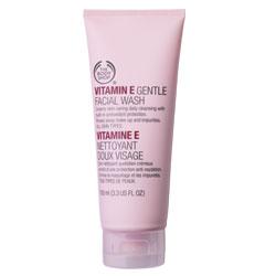 Гель для умывания Vitamin E Gentle Facial Wash от The Body Shop