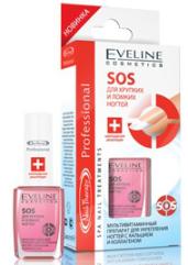 """Мультивитаминный препарат для укрепления ногтей """"Sos для хрупких и ломких ногтей"""" от Eveline"""