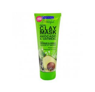"""Очищающая глиняная маска для лица """"Авокадо и овсяная мука"""" от Freeman"""