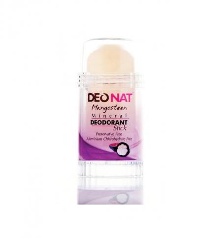 Натуральный минеральный дезодорант с жидким экстрактом сока кожуры Мангостина от Deonat
