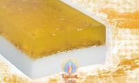 """Мыло со скрабом """"Молоко и мед с овсяными хлопьями"""" от Valent Vota (1)"""