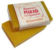 """Крымское натуральное мыло """"Абрикосвое"""""""