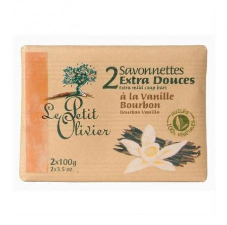 Нежное мыло Ваниль-бурбон от Le Petit Olivier
