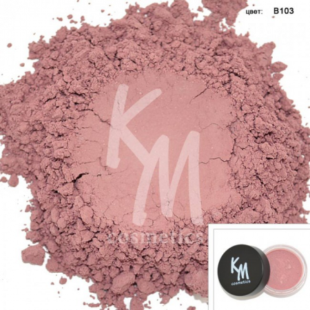 Румяна матовые (оттенок B103) от Kristall Minerals cosmetics