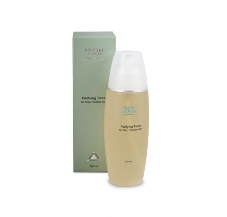 Очищающий тоник для жирной и комбинированной кожи Purifying toner от Fresh Look